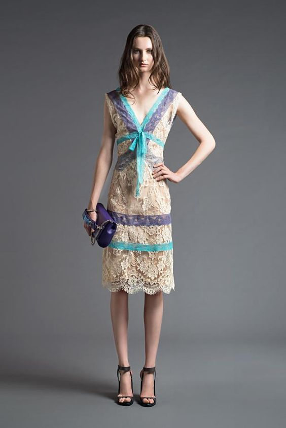 Alberta Ferretti's resort / pre-spring 2013 collection: