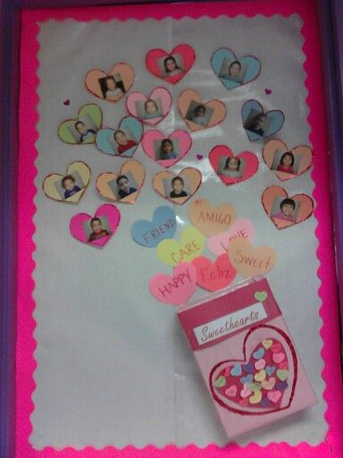 Preschool Classroom Valentine Ideas ~ Our valentine classroom door bulletin board ideas and