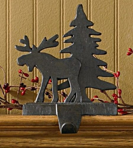 This Rustic Stocking Holder Is Great For Your Fireplace Mantle This Christmas This Stocking
