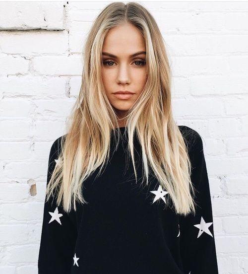 Sunflower Blonde Color Hair Styles Long Hair Styles Beauty