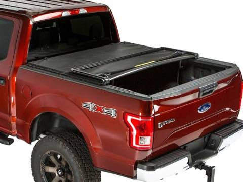 Gator Sfx Tri Fold Tonneau Cover With Images Truck Bed Covers Tri Fold Tonneau Cover Tonneau Cover