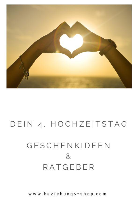 Romantische und besondere Geschenkideen für zeitlose Geschenke zum 4. Hochzeitstag