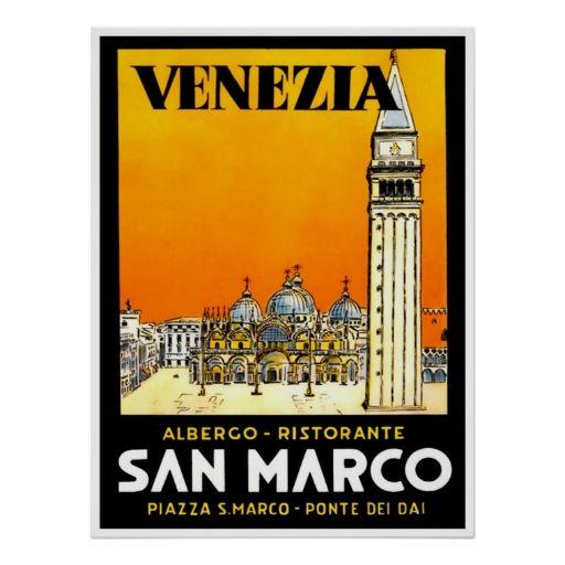 Venice Italy Print Vin...