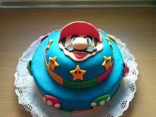 Tarta de Super Mario Bros.