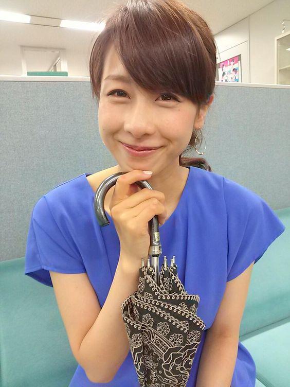 ニッコリと微笑む可愛すぎる加藤綾子