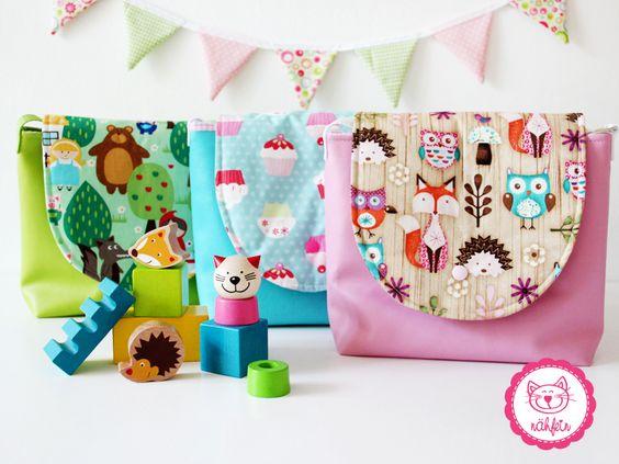tolle bunte Kindergartentaschen