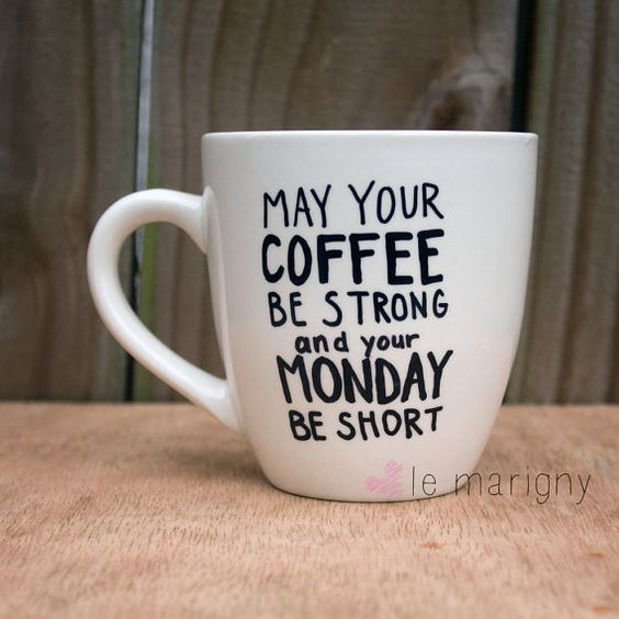 Short Monday Mug | Plus Size Life