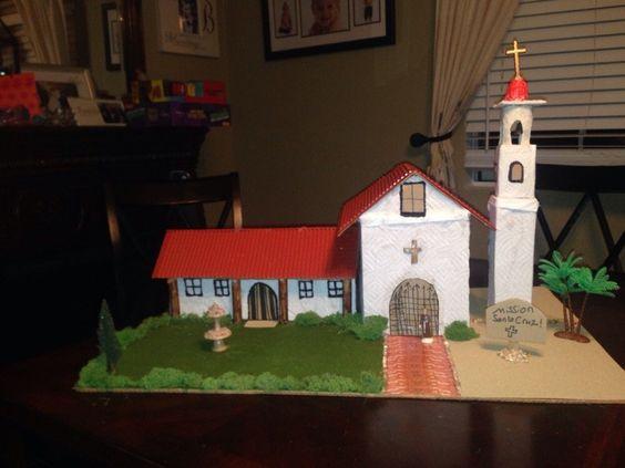 mission santa cruz 4th grade project - Google Search ...