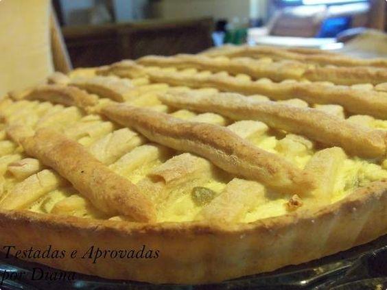 Torta salgada de ricota por Diana   Pães e Salgados   Receitas.com