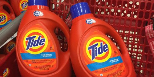 Tide Liquid Laundry Detergent Or Pods Just 8 Each After Target