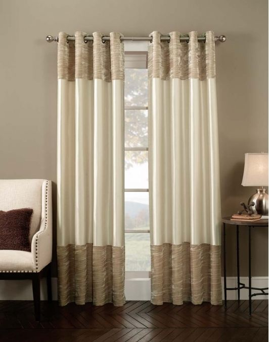 Venetian Velvet Luxury Curtain Panel- Home and Garden Design Ideas ...