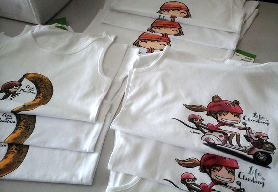 Magliette donna arrampicata - abbigliamento ragazza - Kuana Women Climbing Wear -  Tshirt Canotta Donna - Cotone organico