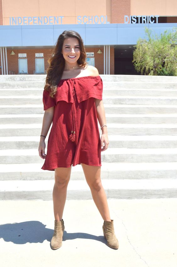 Dating the Quarterback Dress from Shop Southern Roots TX