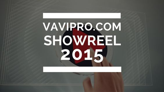 various video production showreel 2015
