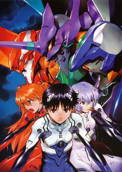 Asuka, Shinji y Rei... Neon Genesis Evangelion