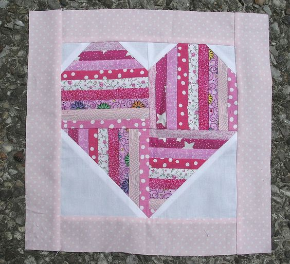 Heart Quilt Block Quilts - Hearts Pinterest Inspiration, Memories and Look at