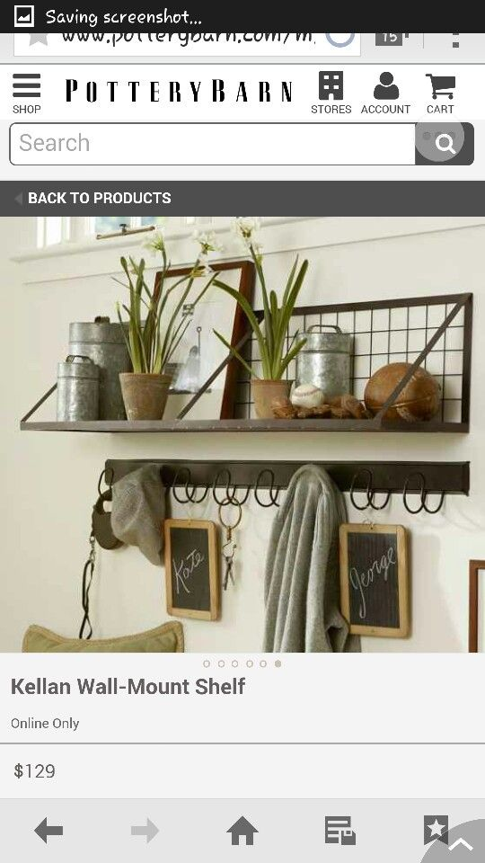 Image Result For Entryway Shelf