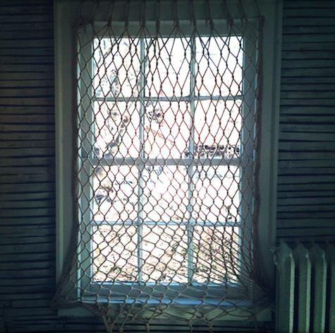 Diy fishnet window covering dear lord is there a single window in my