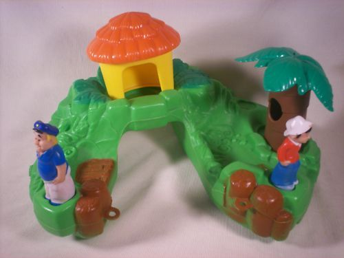 Gilligan's Island bath toy. I still think about how much I loved this.