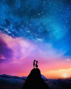 80 Romantic Photos For Your Perfect 2020 Couple Goals Aninspiring Com 80 Romantic Love Inspiration Anins Moon Photography Photography Anime Scenery