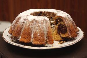 Torta marmolada de Chocolate y naranja | Recetas de Cocina faciles.