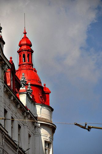 Red roof in Prague  -  http://www.flickr.com/photos/46267422@N07/6840746382/