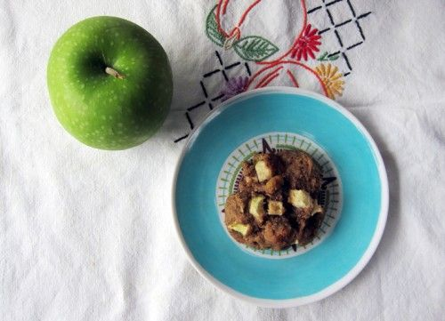 fresh apple spice cookies