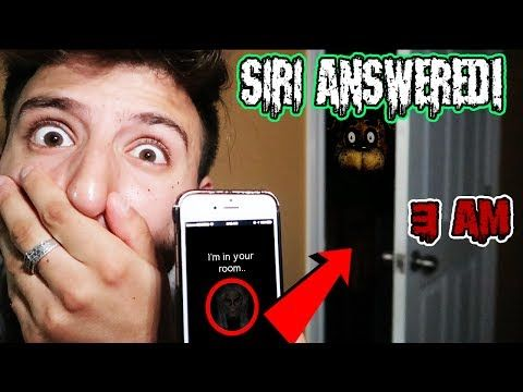 SIRI IS IN MY ROOM?!) I TRIED CALLING FREDDY FAZBEAR AT 3 AM BUT SIRI  ANSWERED INSTEAD (SIRI FOUND) - YouTube | Freddy fazbear, Freddy, My room