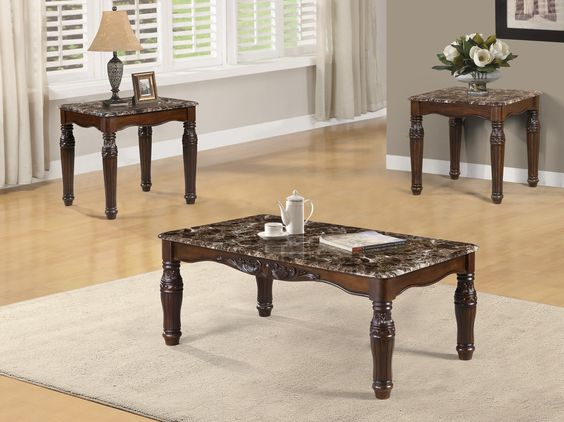 Rayners 3 Piece Coffee Table Set