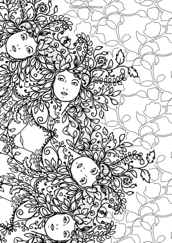 creative coloring birds art activity pages to relax and enjoy | Art Therapy: The Enchanted Forest: 100 Designs Colouring ...