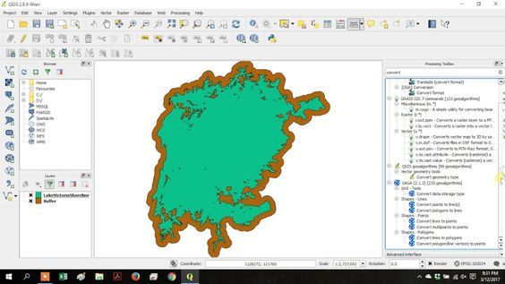 Using QGIS 3rd Party Processing  Grass GDAL SAGA
