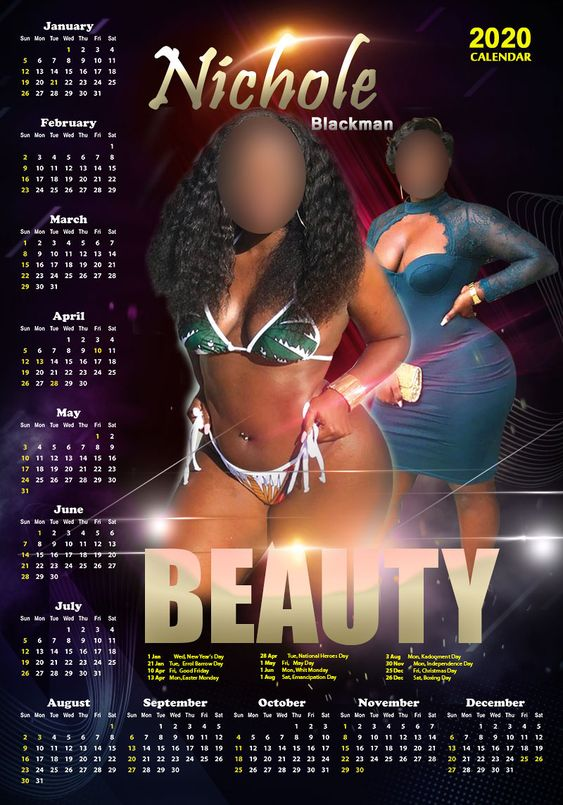 Barbados Cutomized Calendars
