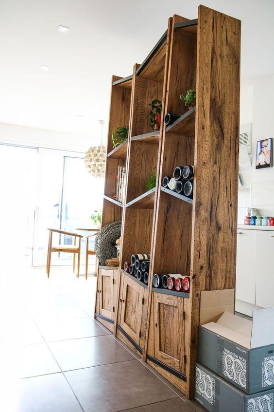 Interior design, Objekteinrichtung, Küchenregal eiche Interior - küchen wandregal landhaus