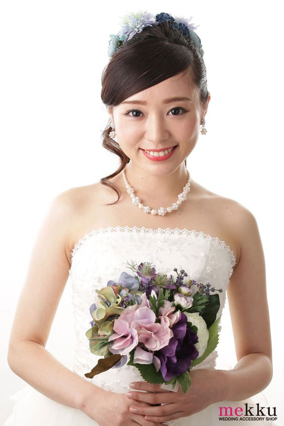 #bridal hairstyling #mekku #wedding #headdress #Bridal #ヘッドドレス #花嫁ヘア #ウェディング