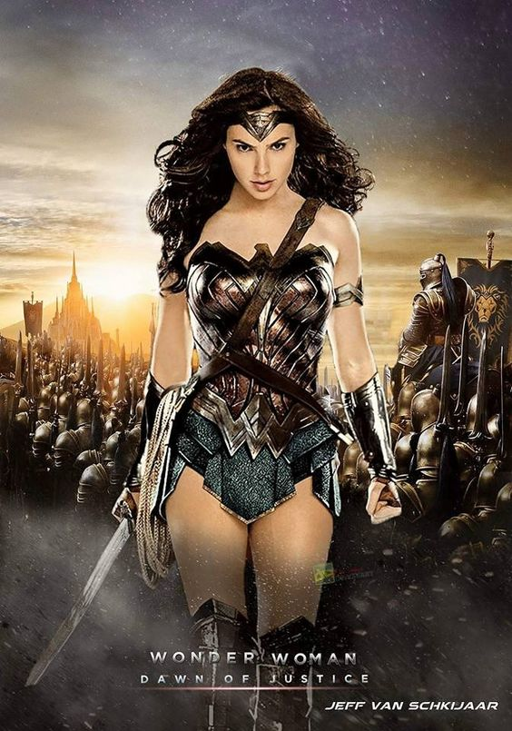 So amazing,Gal Gadot was the perfect choice for Wonder Woman role in #Batman v…
