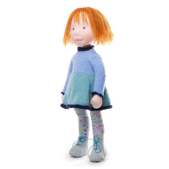 Gia Handmade cloth doll by AldegondeCeelen on Etsy