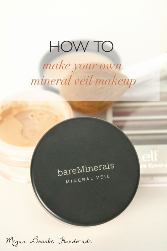 how to make your own mineral veil makeup powder brooke d 39 orsay and bare minerals. Black Bedroom Furniture Sets. Home Design Ideas