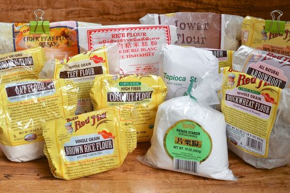 Before & After:  How I Organized All My Little Bags of Gluten-Free Flour   Pantry Organization