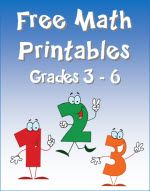 Free Math Printables for grades 3 - 6 from Laura Candler's online file cabinet