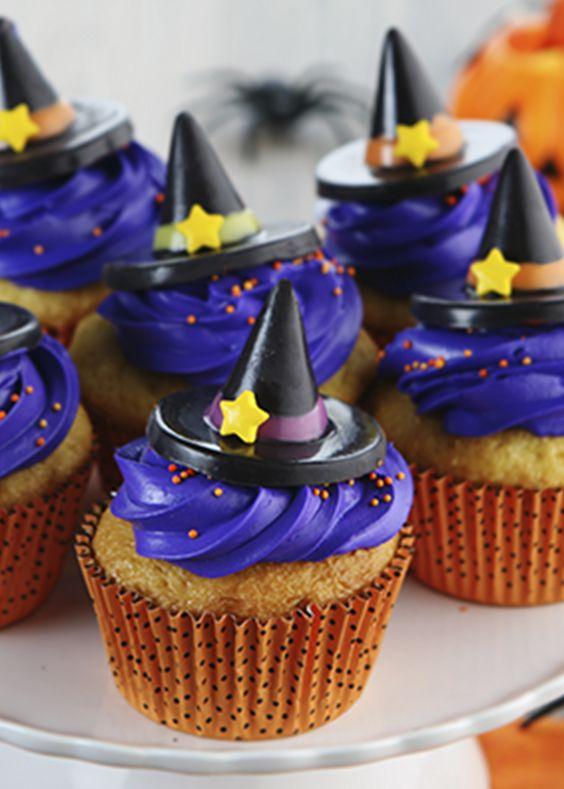 Halloween Cupcakes Recipe Cupcake Recipes Easy Vanilla