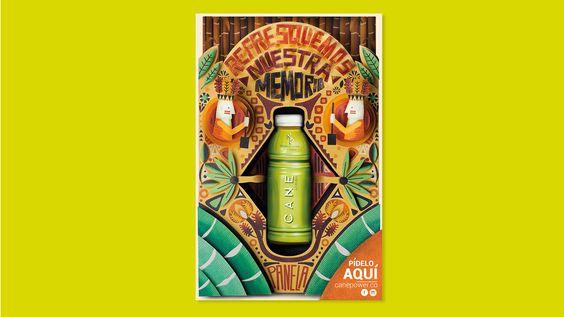 Creamos un concepto de marca diferenciador para posicionar a CANE, una refrescante bebida a base de panela, en el difícil segmento de las bebidas. ¿O quién si va a sus orígenes no recuerda la famosa aguade panela con limón para calmar la sed?