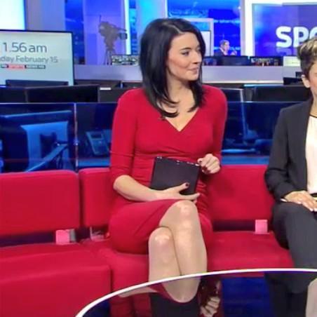 Sky Sports Natalie Sawyer is a
