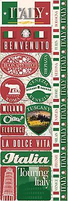 Reminisce ITALY COMBO Cardstock Stickers scrapbooking VENICE ROME TURIN