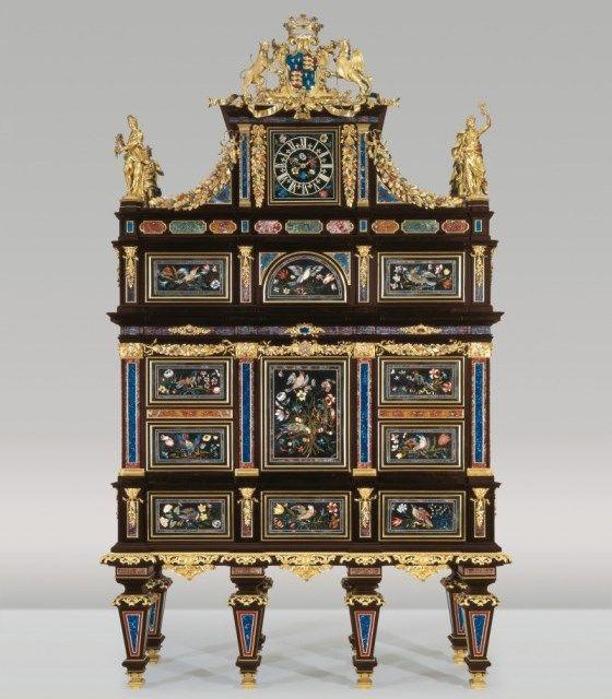 Badminton cabinet , 1726