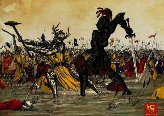 """La batalla del Tridente"""
