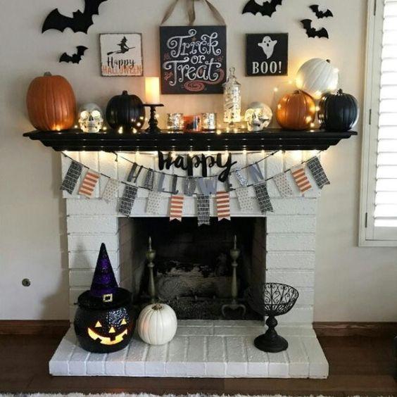 11+ Diy halloween mantel decorations ideas in 2021