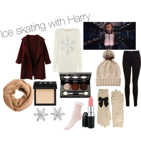 Ice skating with Harry