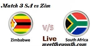 ICC Cricket World Cup 2015 Match 3 Prediction |South Africa vs Zimbabwe Live Score | South Africa vs Zimbabwe Live Prediction | Live Streaming | Playing 11 | ICC World Cup 2015 Live Score
