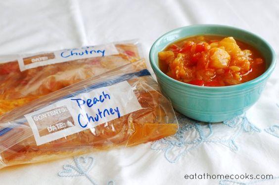 Peach chutney, Chutney and Peaches on Pinterest