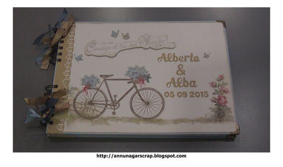 Libro de firmas Boda modelo Dayka Bicicleta Guestbook Weeding